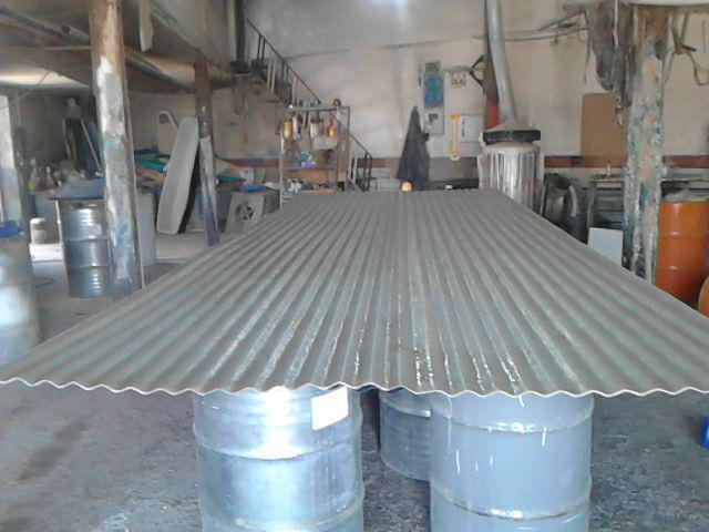 ساخت ورقهای پوششی سقف فایبرگلاس